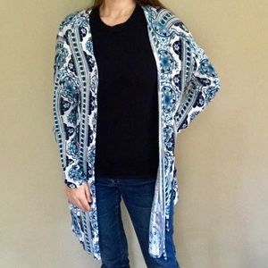 Divided by H&M Sz small lightweight blue cardigan
